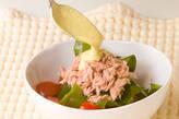 ワカメとツナのサラダの作り方4