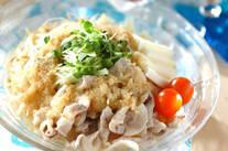 サッパリ豚シャブ麺