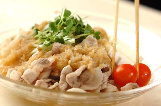 サッパリ豚シャブ麺の作り方の手順9