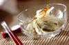 塩もみ冬瓜のもずく和えの作り方の手順
