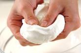 イチゴ白玉の作り方1