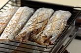 タチウオの塩焼きの作り方1