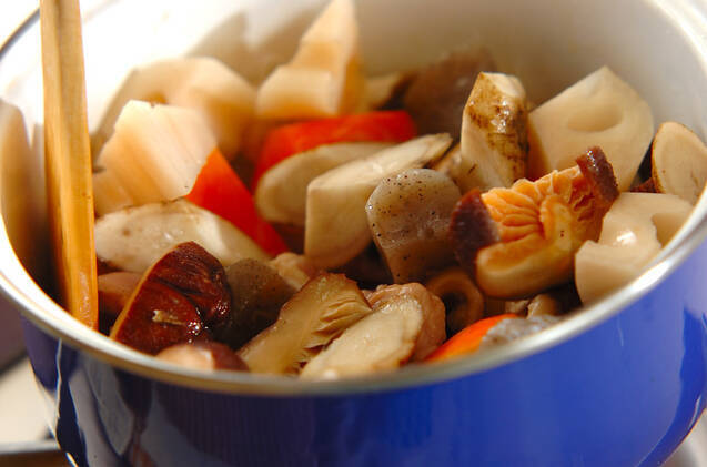しっかり味の筑前煮の作り方の手順9