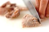 牛スジの塩コショウ炒めの作り方1