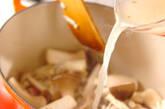 キノコのクリーム煮の作り方9