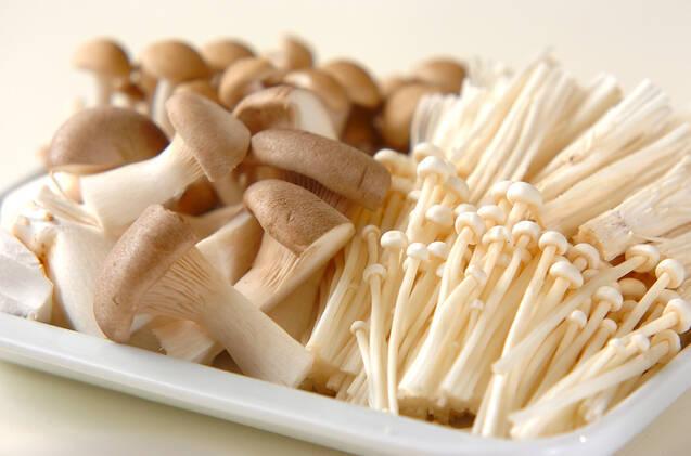 キノコのクリーム煮の作り方の手順1