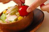 たっぷりコーンのマカロニサラダの作り方8