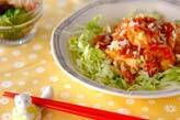 エビ豆腐チリソース