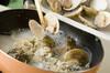 ハマグリのワイン蒸しの作り方の手順3
