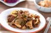 ラム肉とキノコの炒め物の作り方の手順