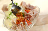 ピリ辛ネギダレがけゆで豚の作り方8