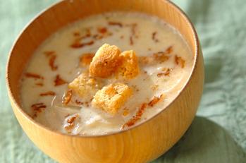 たっぷり玉ネギのスープ
