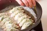 キャベツで焼き餃子の作り方4
