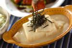 豆乳湯葉がけ豆腐