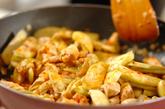 鶏とナスのピリ辛炒めの作り方2