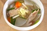 手羽と大根のスープ