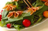 リボンリースサラダの作り方7