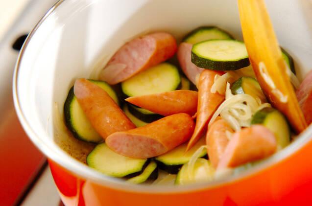 レンズ豆のカスレ風の作り方の手順5