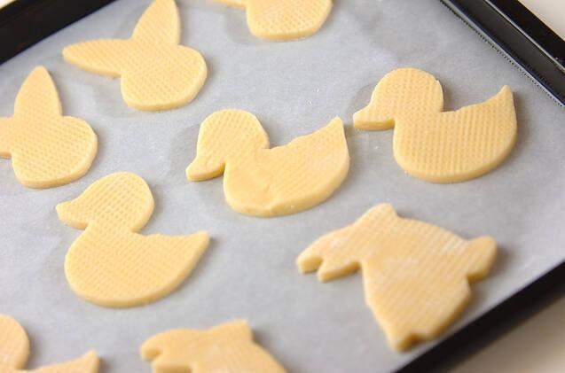 ホットケーキミックスで簡単!さくさくサブレ風クッキーの作り方の手順3
