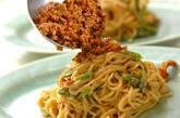 汁なし担担麺の作り方3