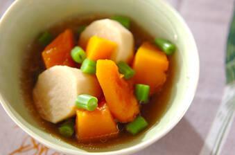 カボチャと里芋の煮物
