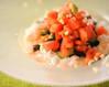 トマトとショウガのサッパリご飯
