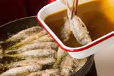 小アジのカレー南蛮漬けの作り方9