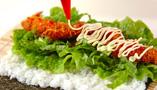 スパイシーエビ巻き寿司の作り方3