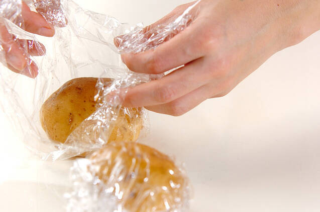 ジャガイモ和風ソテーの作り方の手順1