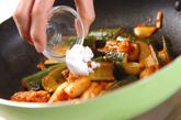 キュウリの炒め物の作り方2