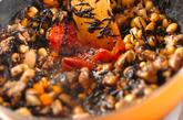 大豆とヒジキの梅煮の作り方3