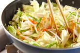 野菜炒めの作り方1