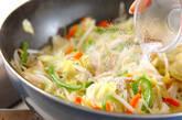 野菜炒めの作り方8