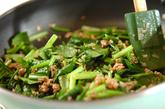 小松菜マーボーの作り方2