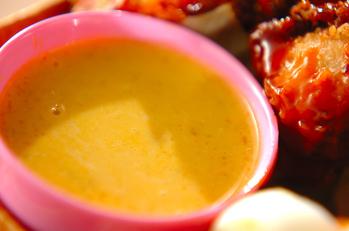 カボチャと豆乳のスープ