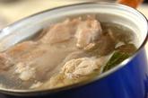 ゆで鶏・ネギソースの作り方1