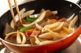 コンニャクのピリ辛炒めの作り方7