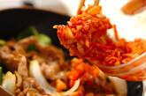 豚キムチ炒めの作り方2