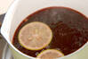 ホット赤ワインの作り方の手順1