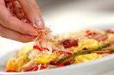 ランチョンミート入り素麺チャンプルーの作り方3