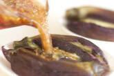 蒸しナスのネギソースの作り方4