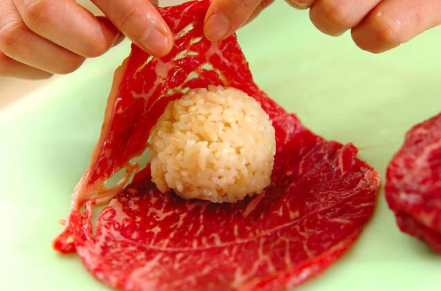 くまさん手まり寿司の作り方の手順4