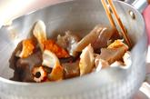 ちくわとコンニャクの煮物の作り方1