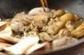 カキのオイスター炒め丼の作り方1