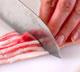 白菜と豚肉の酒鍋の下準備2