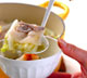 白菜と豚肉の酒鍋の作り方3