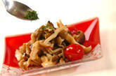 キノコのピリ辛甘酢炒めの作り方6