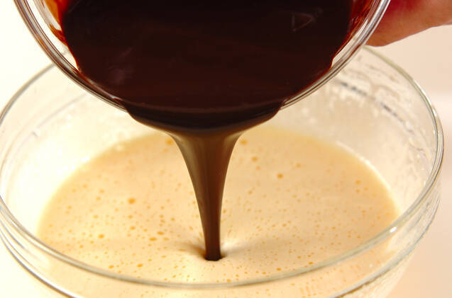 ダリオール オ ショコラの作り方の手順3