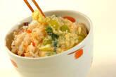 カニのあんかけもちもちご飯の作り方12
