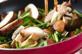 シイタケの中華炒めの作り方4